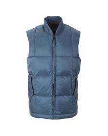 Paul Smith Jeans Mens Blue Quilt Down Gilet
