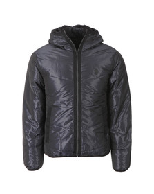 Luke Mens Blue Emersion Reversible Quilted Jacket