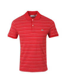 Lacoste Mens Red DH3301 Polo Shirt