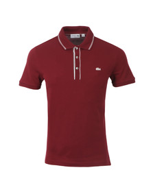 Lacoste Mens Red PH2165 Polo Shirt