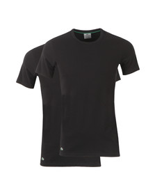Lacoste Mens Black Two Pack T-Shirts