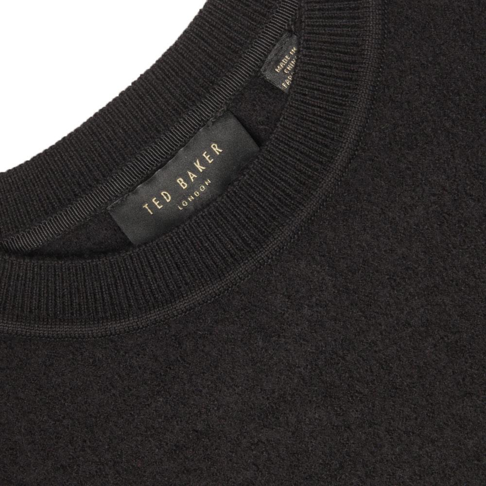 Phillia Leather Trim Sweater main image