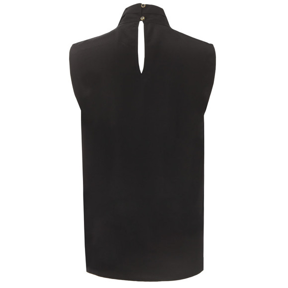 Ted Baker Womens Black Syna Soft Scarf Neck Sleeveless Top main image