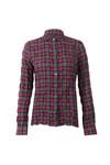 Barbour Lifestyle Womens Red Barlett Check Shirt