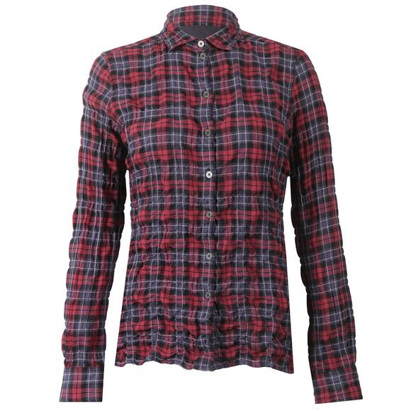 Barbour Lifestyle Womens Red Barlett Check Shirt main image