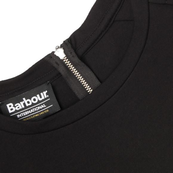 Barbour International Womens Black Bearing Top main image
