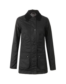 Barbour Lifestyle Womens Black Straiton Wax Jacket