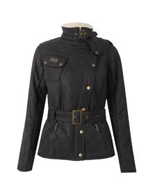 Barbour International Womens Black Matlock Quilted Jacket