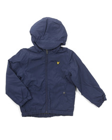 Lyle And Scott Junior Boys Blue Padded Cagoule