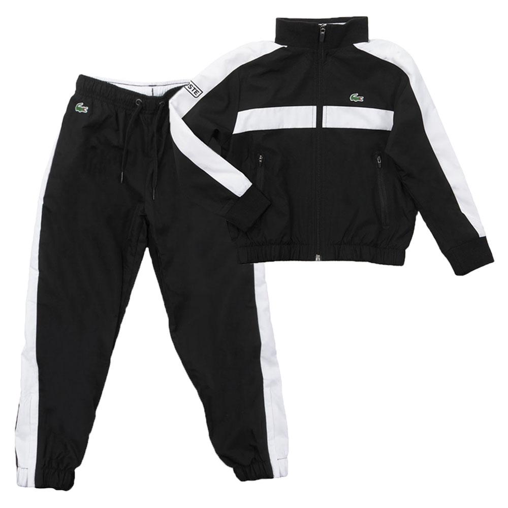 ad985554c Lacoste Sport Boys Black Tracksuit WJ2816 main image. Loading zoom