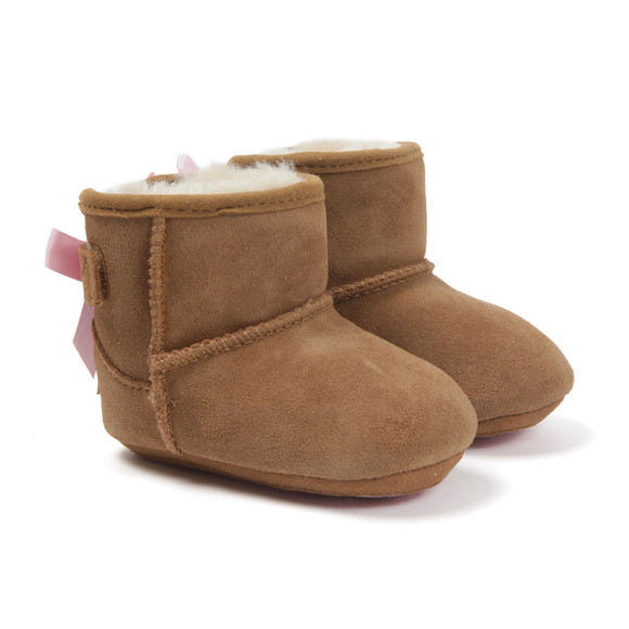 Ugg Girls Brown Jesse Bow Boot main image