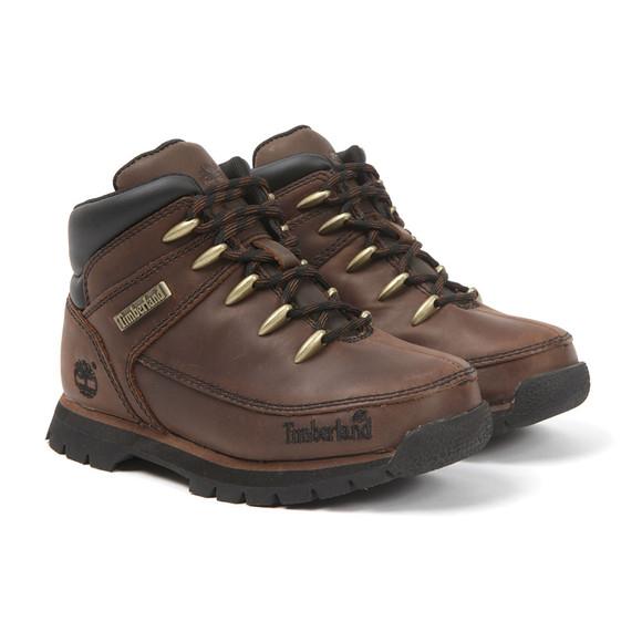 Timberland Boys Brown Euro Sprint Boot main image