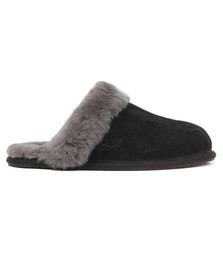 Ugg Womens Black Scuffette II Slipper