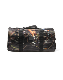 Paul Smith Jeans Mens Beige Cycle Print Holdall