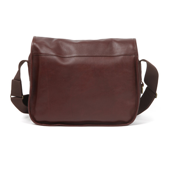 Barbour Lifestyle Mens Brown Leather Tarras Bag main image