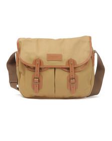 Barbour Lifestyle Mens Beige Cotton Tarras Bag