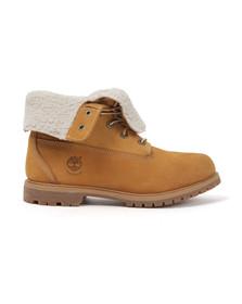 Timberland Womens Beige Authentic Teddy Fleece Boot