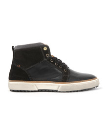 Pantofola d'Oro Mens Black Benevento Mid Trainer