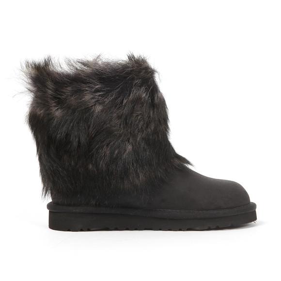 Ugg Girls Black Ellee Leather Boot main image