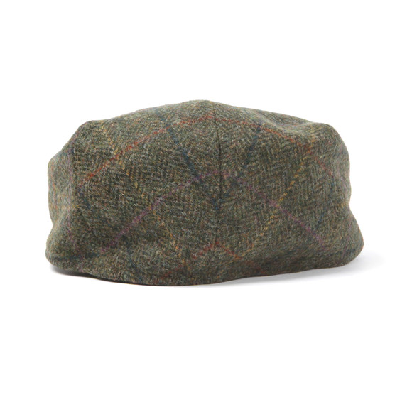 Barbour Lifestyle Mens Green Moons Tweed Cap main image
