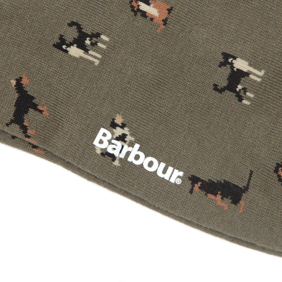 Barbour Lifestyle Mens Green Mavin Dog Socks main image
