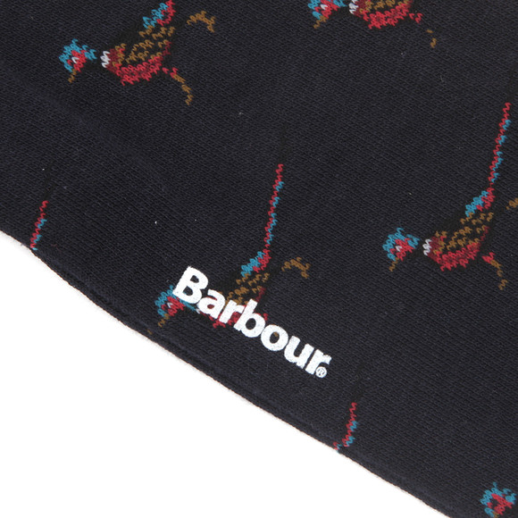 Barbour Lifestyle Mens Blue Mavin Pheasant Socks main image