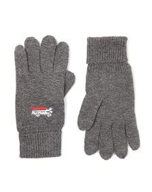Superdry Mens Grey Orange Label Glove