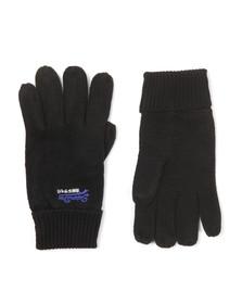 Superdry Mens Black Orange Label Glove