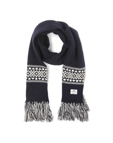 Penfield Mens Blue Fairwood Fairisle Scarf
