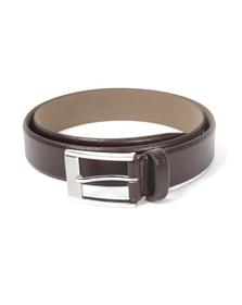 Hugo Mens Brown Ellot Leather Belt