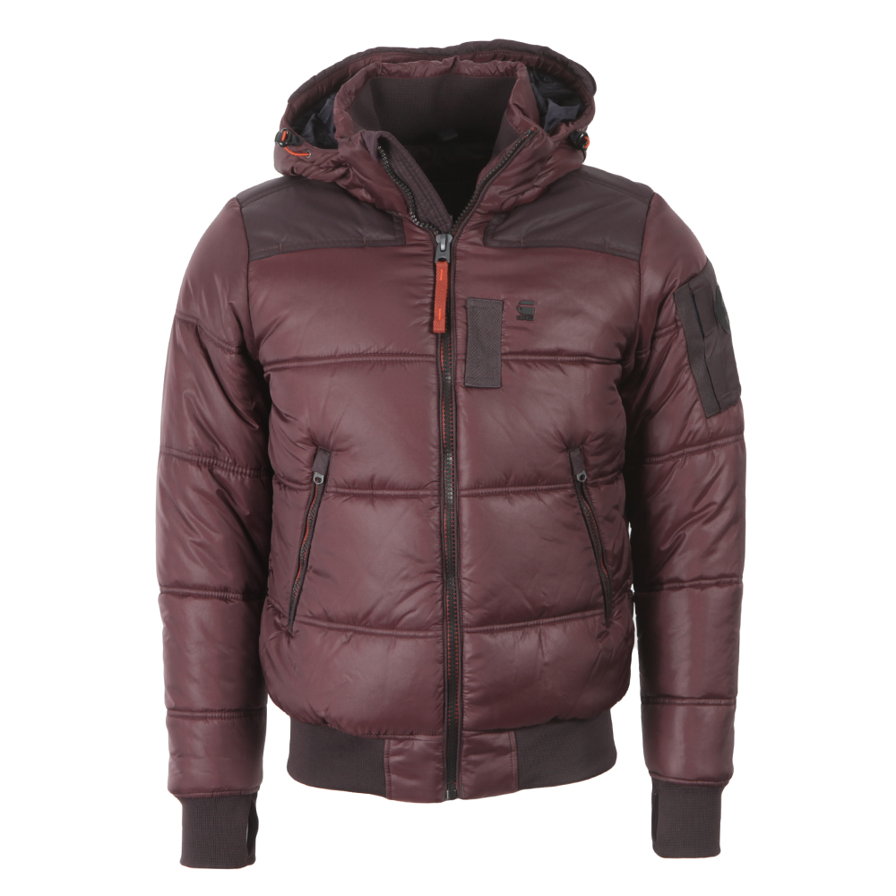 special price for most popular buy online Mens Red Whistler Hooded Bomber Jacket