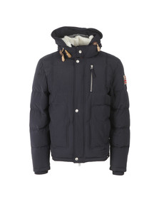 True Religion Mens Blue Down Jacket
