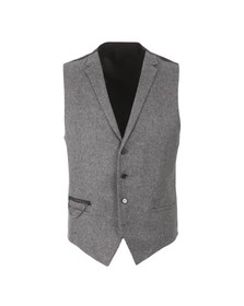 Hugo Mens Grey Wiad Waist Coat