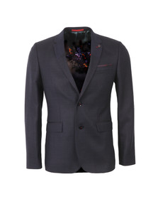 Ted Baker Mens Blue Wool Pin Dot Blazer