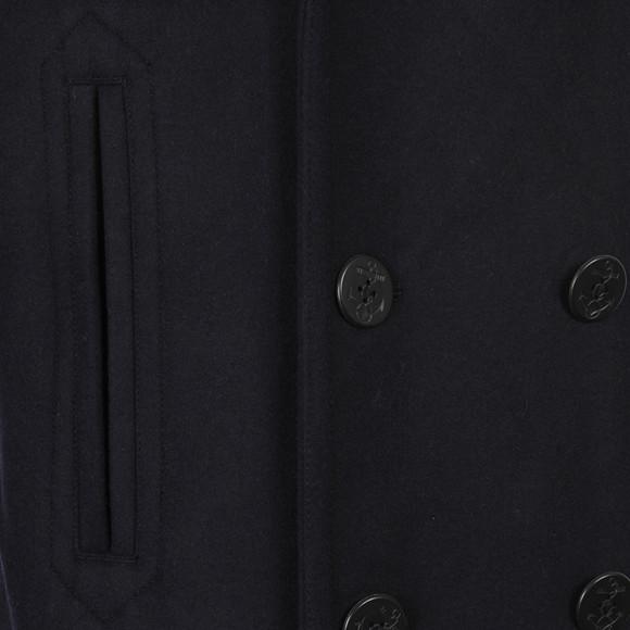 Gant Mens Blue Wool Pea Coat main image
