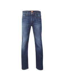 Boss Orange Mens Blue Orange 25 Regular Fit Jean