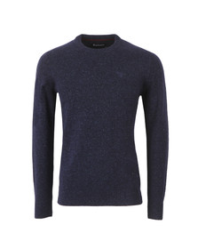Barbour Lifestyle Mens Blue Tisbury Crew Jumper