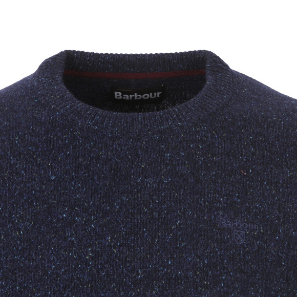 Barbour Lifestyle Mens Blue Tisbury Crew Jumper main image