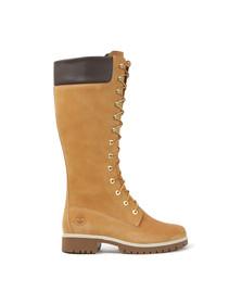 Timberland Womens Beige 14 Inch Premium Boot