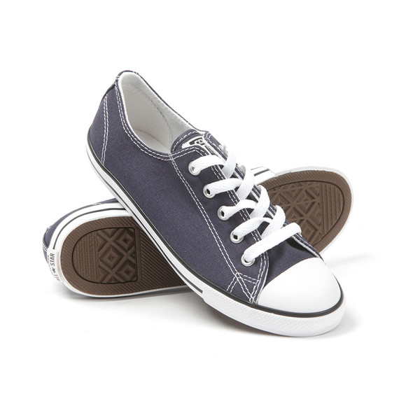 Converse Womens Blue CT AS Dainty OX Trainer main image