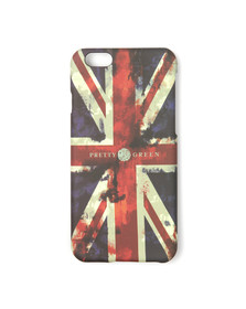 Pretty Green Mens Red Union Jack Iphone 6 Case