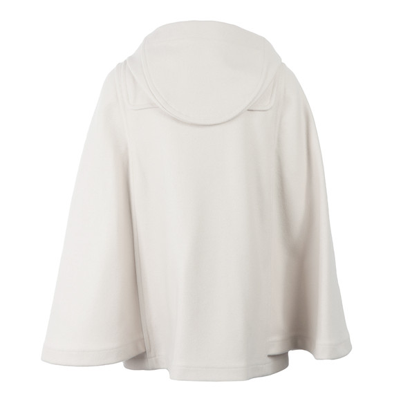 Gloverall Womens Beige Cape Jacket main image
