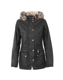 Barbour Lifestyle Womens Black Barbour Kelsall Winter Parka