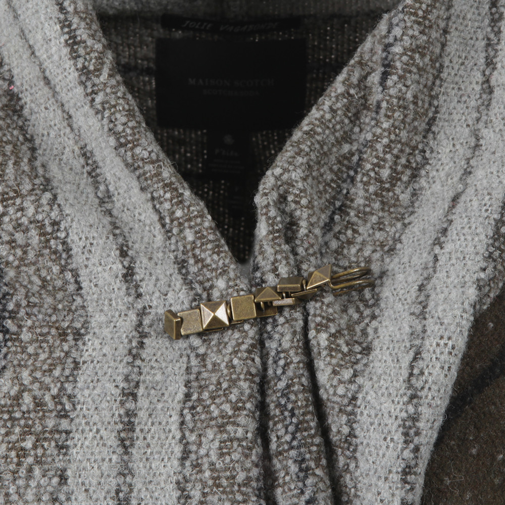 Warm Wool Blend Poncho main image