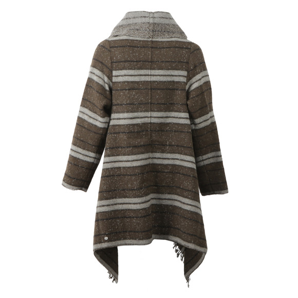 Maison Scotch Womens Grey Warm Wool Blend Poncho main image