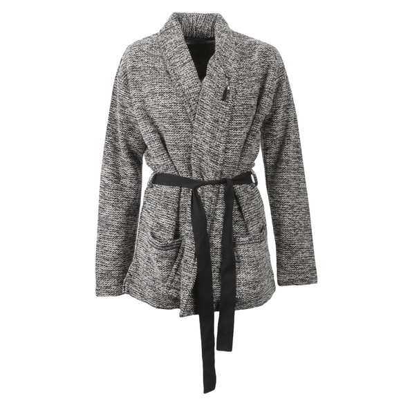 Maison Scotch Womens Black Wrapover Blazer With A Belt main image