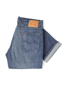 Levi's Mens Blue 514 Straight Leg Jean