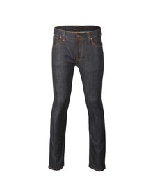 Nudie Jeans Mens Blue Thin Finn Dry Stretch Jean