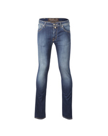Jacob Cohen Mens Blue J622 Regular Jean