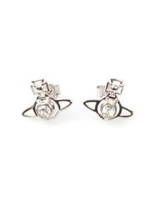 Vivienne Westwood Womens Silver Nora Earrings